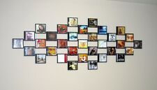 CD wall tile Display System, Various Colours, unlimited Poster, Picture, Popart!