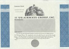 """Us Airways Group Inc."" Common Stock Specimen With Imprint (E-6-1517A) Bn7087"