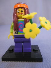 "Lego 8831 Minifigure ""HIPPIE"" 100% complete Series 7 Collectible"