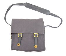 More details for ww2 1937 pattern raf canvas small pack side bag satchel british army webbing bag