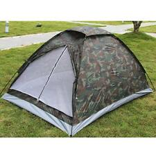 Camping Tent for 2 Person Family Single Layer Waterproof Outdoor Hiking Sports