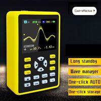 "Portable 100MHz 500MS/s Sampling Rate 5012H Digital Oscilloscope 2.4"" Screen"