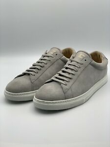 Zespa ZSP4 hgh Suede-Leather Trainers In Grey UK size 7.5, EU 41.5