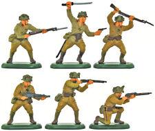 Britains SuperDeetail WWII Japanese - 54mm painted plastic figures metal bases