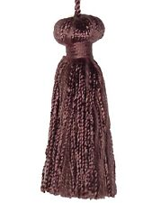"""Conso Princess Collection 22051 H11 WINEBERRY Decorative Bell 3"""" Tassel 3"""" Loop"""