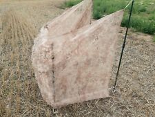 Hide Net Stubble Camo by Sillosocks 2Ply 4 x 1.5m  Net only Poles not included