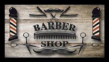 Barber Shop Bar Runner Counter Mat Barbers Salon Hairdressing Rustic Effect 863