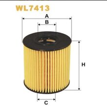 Wix WL7413 Oil Filter Cartridge Replacement Quality Various 1.6 2.0 Diesel