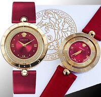 Versace Damenuhr Uhr VE7900320 EON Lünette drehbar IP-Gold SWISS MADE neu