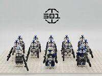 Star Wars 501st Squadron Captain Rex Jesse Echo Set 13 Minifigures Lot USA SELL