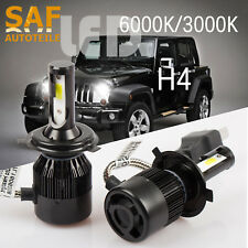 LED Hauptscheinwerfer H4 Lampen Glühbirne für Jeep Wrangler Grand Cherokee