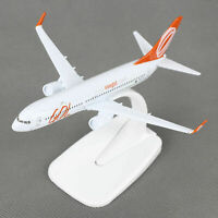 New 16cm Aircraft Plane Boeing 737 Air GOL Airlines Diecast Model