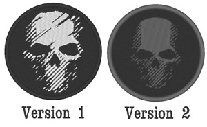 """E036B GAME EMBROIDERED """"GHOST RECON BREAKPOINT LOGO"""" PATCH 2 VERSIONS"""
