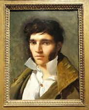 Oil Painting repro Portrait of the Sculptor Paul Lemoyne by Ingres