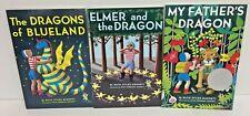 Ruth Stiles Gannett lot of 3 books The Dragon of Blueland, Elmer , My Father's