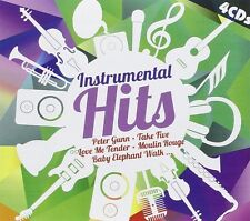CD Instrumental Hits de Varios Artistas 4CDs
