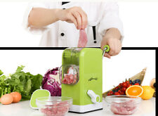 Kitchen Green ABS Multi-Fuction Manual Meat Grinder Mincer
