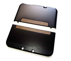 Nintendo *NEW* 3DS XL 3DSXL Black Aluminium Metal Case Cover Shell Housing