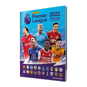 Panini 2020-21 English Premier League Soccer Limited Edition Hard Cover Album