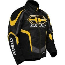 Castle X Blade Snowmobile Jacket XL Yellow.  Ski Doo/Yamaha  yellow