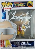 Christopher Lloyd autographed signed Funko Pop Back To The Future PSA COA #960