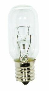Satco S3917 40W T8 130-Volt 1/Card Intermediate Base Light Bulb Microwave Clear