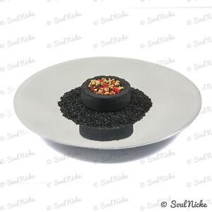 Modern Metal Disc Incense Burner Charcoal Burner for Resin Incense + SAND