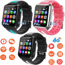 4G Kids Smart Watch Support Sim Card Dual Camera Voice Chat SOS Call For Child