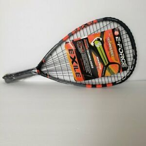 "E-Force Racquetball Racquet  22"" Long string Wide Body Frame Massive Power NWT"