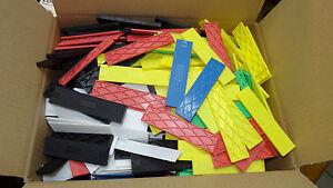 Set. 600 Stück Kunststoff. Verglasungsklötze, Unterleger  100x24x1-6 mm        U