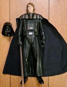 Star Wars Anakin To Darth Vader Figure Light & Sound, With Mask, Hasbro 2012
