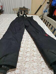 Spyder Entrant GII Snow Pants Size Medium Black