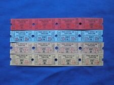 16 Vintage Pike Drive In Theatre Tickets Lot (Strips of 4) (Movie/Cinema) CT