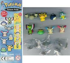 SET 8 Mini Figure POKEMON TOTEM Originali TOMY Gashapon PIKACHU SQUIRTLE Torta