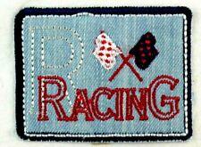 Applikation zum Aufbügeln Bügelbild 2-359 Racing