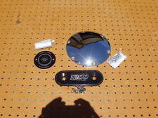 HARLEY DAVIDSON SPORTSTER DERBY COVER + TIMING COVER + TRIM BADGE 3 PIECES NICE