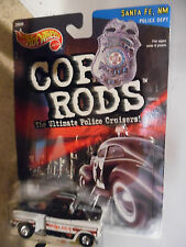 "Hot Wheels ""'56 Flashsider"" Chevy Truck, Cop Rods Series 2, Santa Fe NM, MOC"