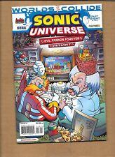 SONIC UNIVERSE #53 EVIL FRIENDS  VARIANT  ARCHIE COMICS HEDGEHOG WORLDS COLLIDE