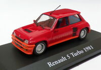 Atlas Editions 1/43 Scale 2 891 012 - 1981 Renault 5 Turbo - Red