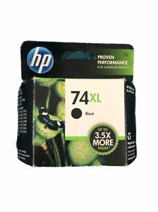 Genuine HP 74XL High Capacity Ink Cartridge Black CB336WN Black Box