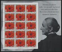 US MNH Stamps - Scott # 3069 - 1996 Georgia O'Keeffe Sheet                   (M)