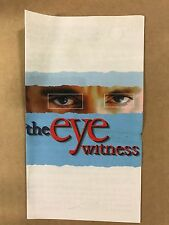 """500 Gospel Tracts SPECIAL - """"THE EYE WITNESS"""""""