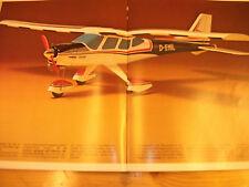 Robbe progo-Cessna-plans de bâtiment avec mode d'emploi-RARE!!!