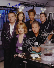 CSI VEGAS CAST OF 6 AUTOGRAPH SIGNED PP PHOTO POSTER