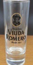 """VIUDA DE ROMERO   DESDE 1852 TEQUILA  4"""" SHOT GLASS"""