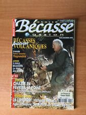 CHASSE BECASSE PASSION n° 33 : bécasses volcaniques Auvergne, chasse en