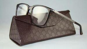 GUCCI GG 1105 GZD Havana Brille Eyewear Frames Glasses Eyeglasses Size 53