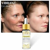 VIBRANT GLAMOUR Gold 24K Face Serum Anti-wrinkle Firming Whitening Essence