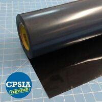 "Siser Easyweed Black HTV 15"" X 5' Iron On Adhesive Heat Transfer Vinyl Roll"