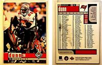 Warrick Dunn Signed 1998 UD Choice #255 Card Tampa Bay Buccaneers Auto Autograph